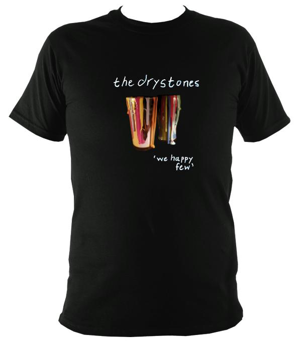 "The Drystones ""We Happy Few"" T-shirt - T-shirt - Black - Mudchutney"