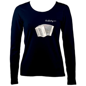 Castagnari Tommy Melodeon Ladies Long Sleeve Shirt