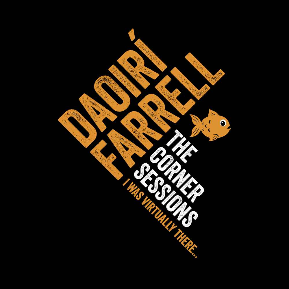 "update alt-text with template Daoiri Farrell ""Corner Session - Fish"" Women's Fitted T-shirt - T-shirt - Black - Mudchutney"