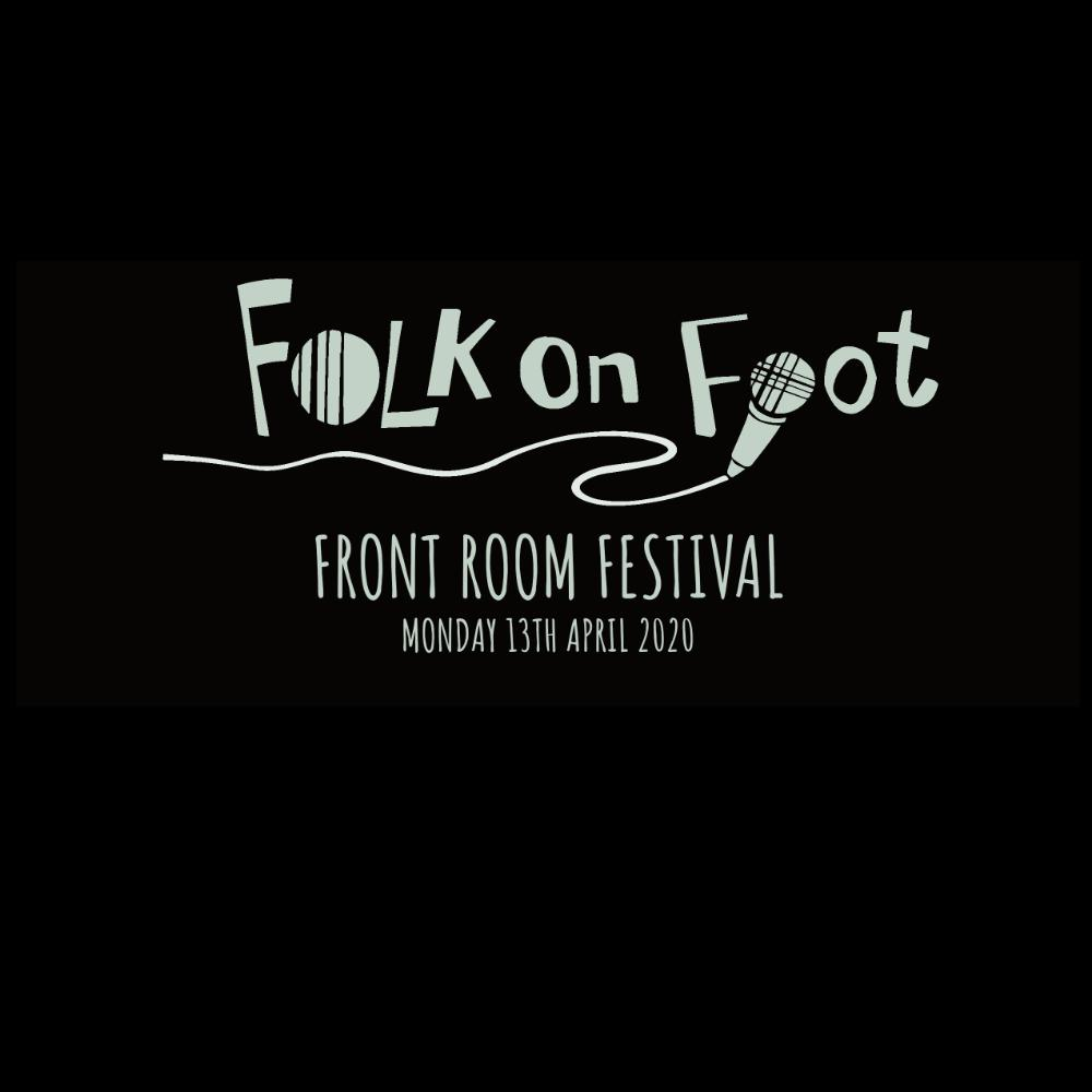 "Folk on Foot ""Front Room Festival"" T-shirt - T-shirt - - Mudchutney"