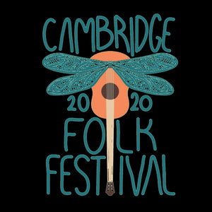 Cambridge Folk Festival - Design 1 - Mens Long Sleeve Shirt - Long Sleeved Shirt - - Mudchutney
