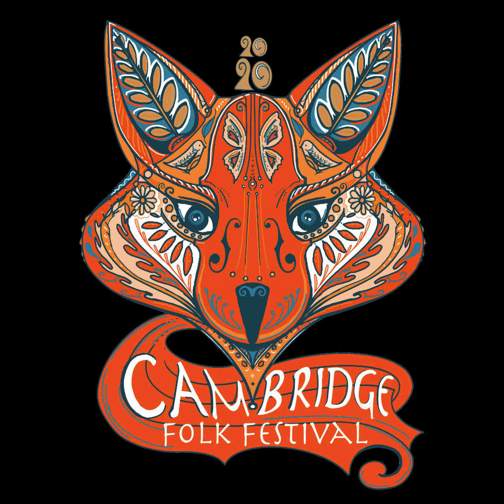 Cambridge Folk Festival - Design 7 - Mens Long Sleeve Shirt - Long Sleeved Shirt - - Mudchutney