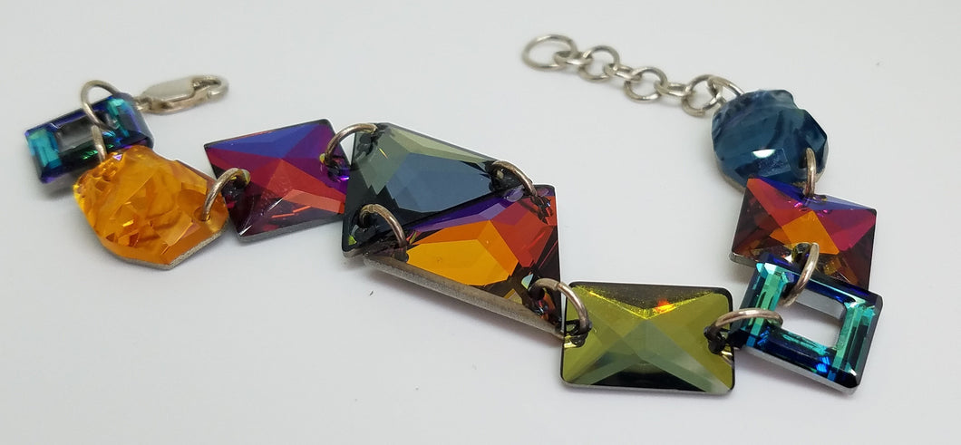 Swarovski Colours of the Sea Bracelet
