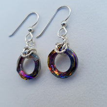 Swarovski Round Crystal Earrings