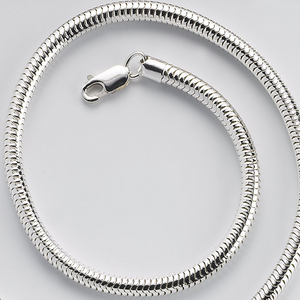 Sterling Silver Round 1.8mm Snake Chain
