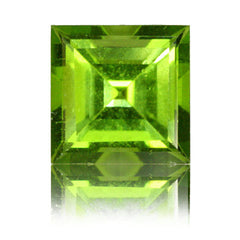 9mm Square Peridot