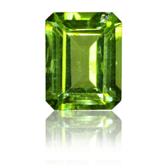 10x8mm Emerald Cut Peridot
