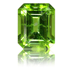 11x9mm Emerald Cut Peridot