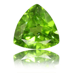 5.14ct Trillion Peridot
