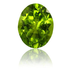 2.65ct 10x8mm Oval Peridot