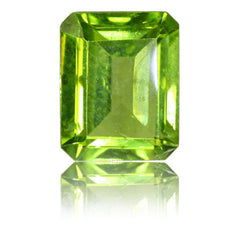 10x8mm Emerald Cut Peridot 3.25ct
