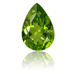 3.66ct Pear Shape Peridot