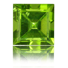 3.13ct Square Peridot