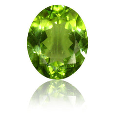 3.07ct Oval Peridot