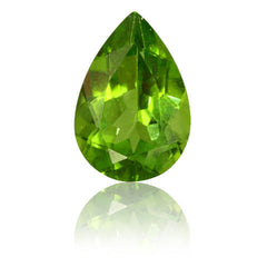 3.92ct Pear Shaped Peridot