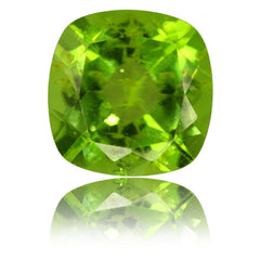 4.62ct 10mm Cushion Peridot