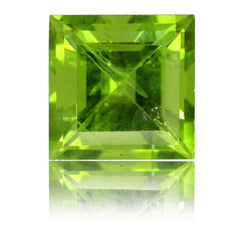 8mm Square Peridot 2.91ct