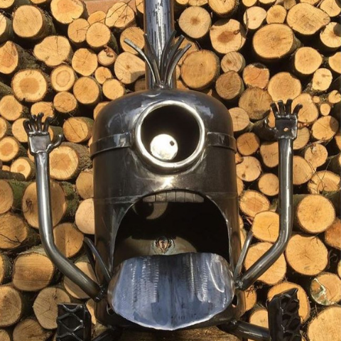 Original Minion Wood Burner