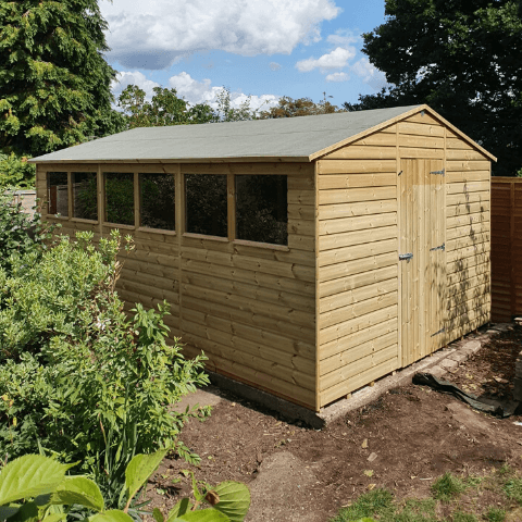 The Snipe - Apex Shed