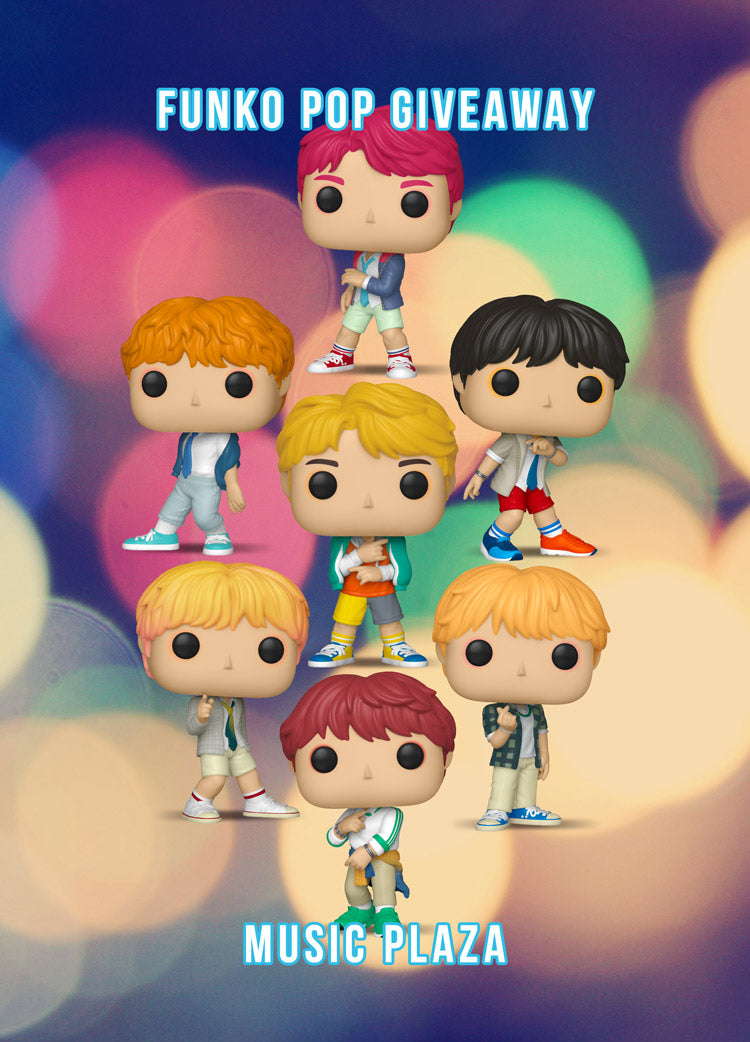 Funko Pop BTS Collection Give Away!