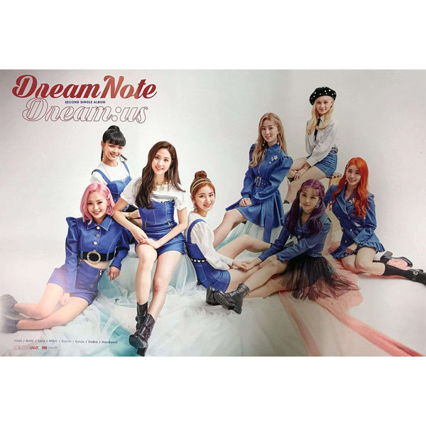 MUSIC PLAZA Poster A. ver 드림노트 | DREAMNOTE |  DREAM:US (2ND 싱글앨범) | POSTER