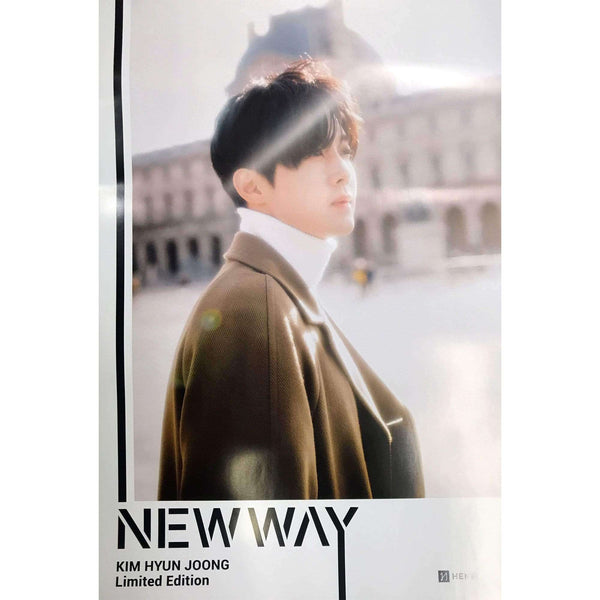 MUSIC PLAZA Poster 김현중 | KIM HYUN JOONG| NEW WAY | POSTER
