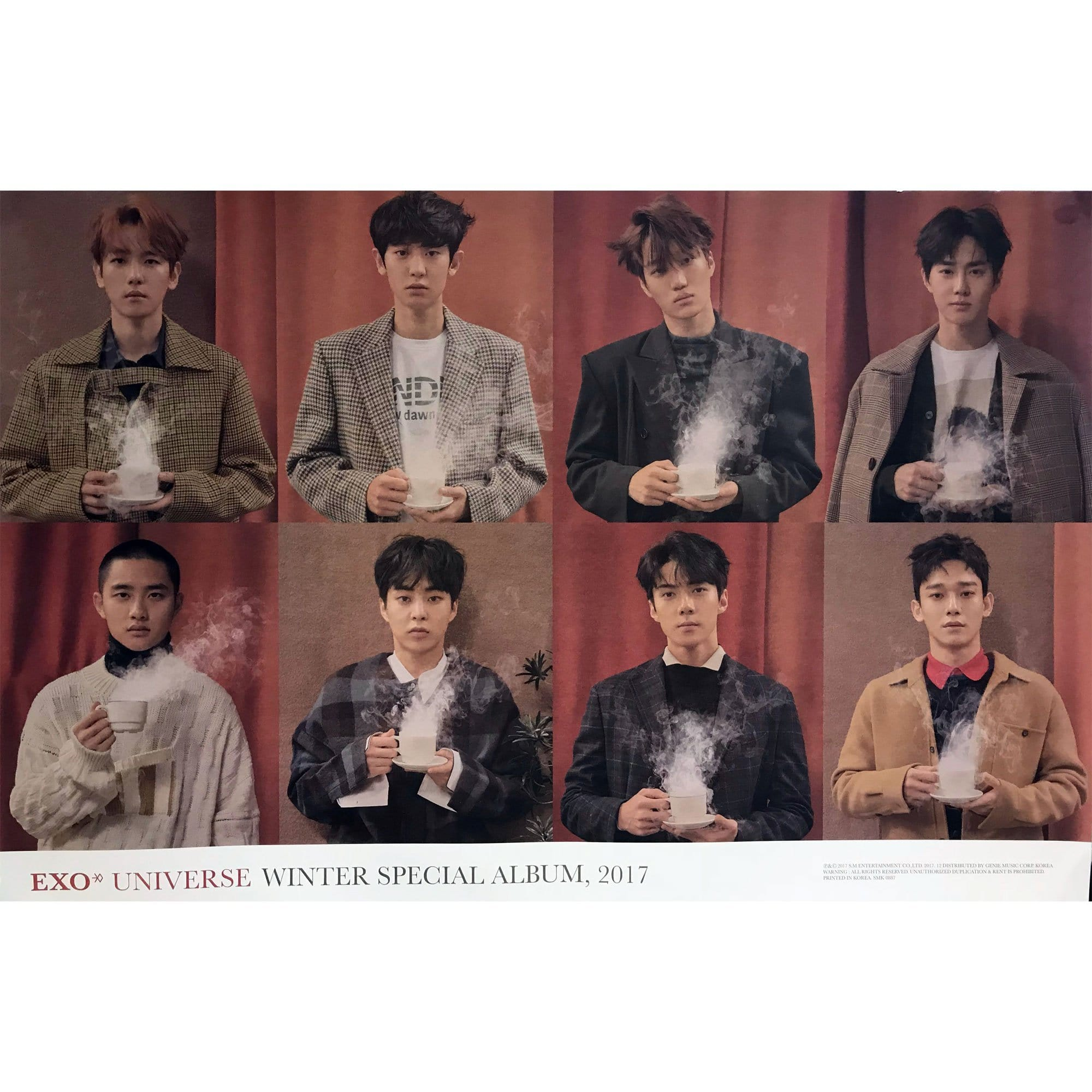 EXO | 엑소 | 2017 WINTER SPECIAL - GROUP VERSION | POSTER ONLY