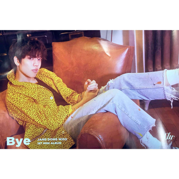 MUSIC PLAZA Poster A. ver 장동우 | JANG DONG WOO | 1ST MINI ALBUM - BYE | POSTER