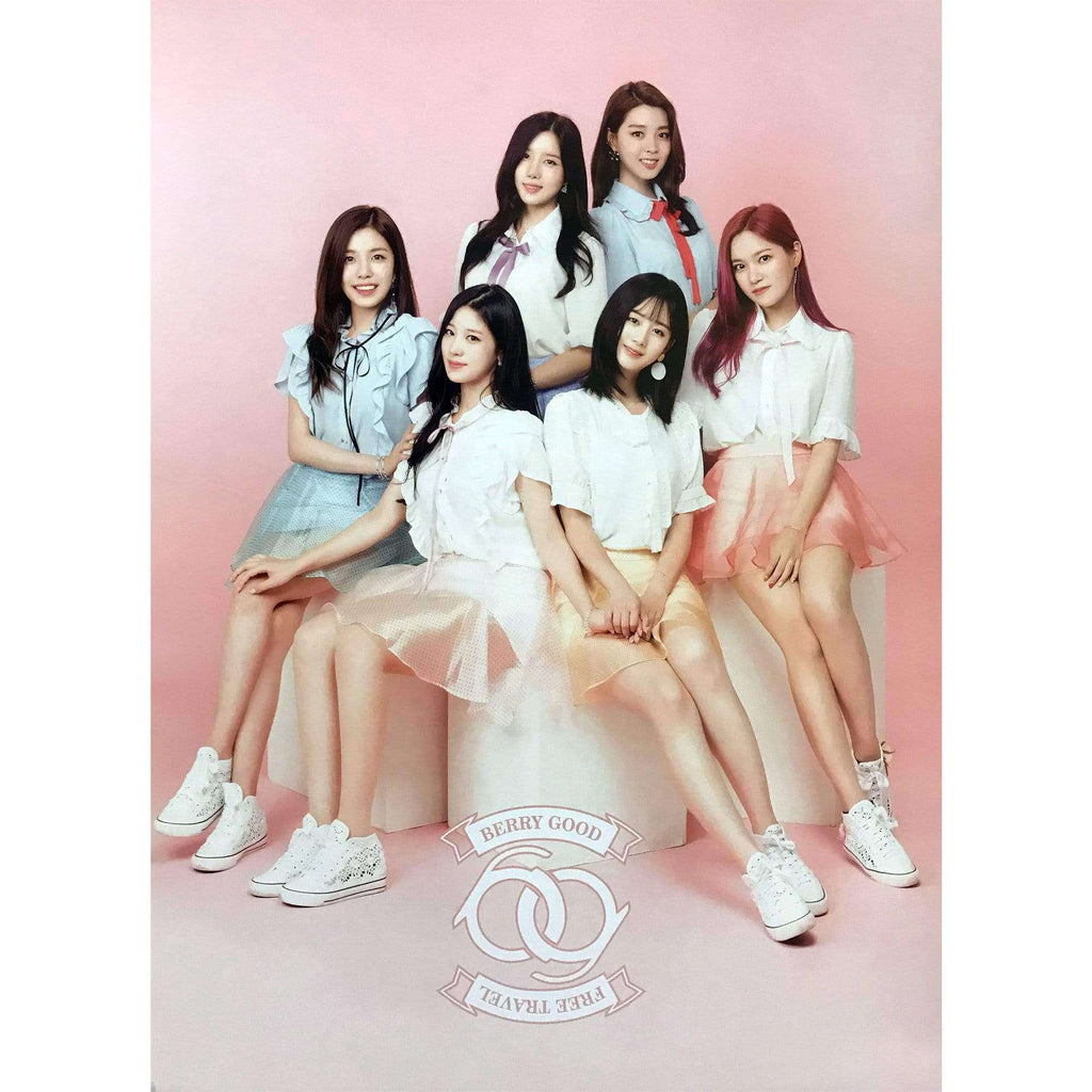 MUSIC PLAZA Poster 베리굿 | BERRYGOOD | VOL.1 [FREE TRAVEL]  | POSTER