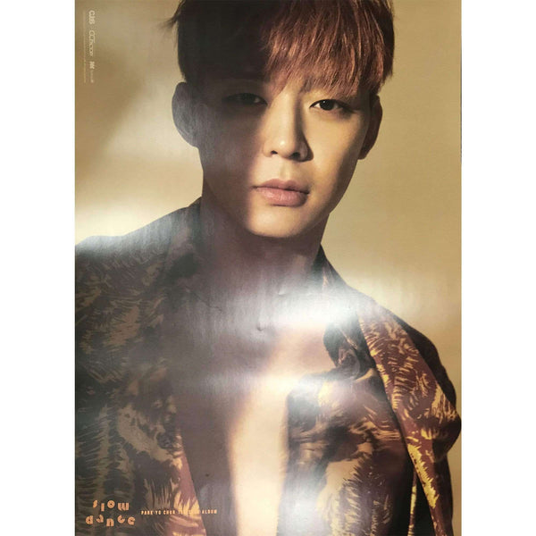Music Plaza Poster 박유천 | PARK YU CHUN - VOL.1 [SLOW DANCE] | POSTER