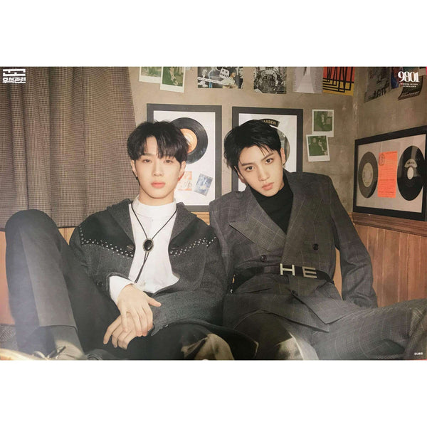 Music Plaza Poster A. VER 우석X관린 | WOOSEOK X KUANLIN | 9801 (1ST MINI ALBUM)) | POSTER