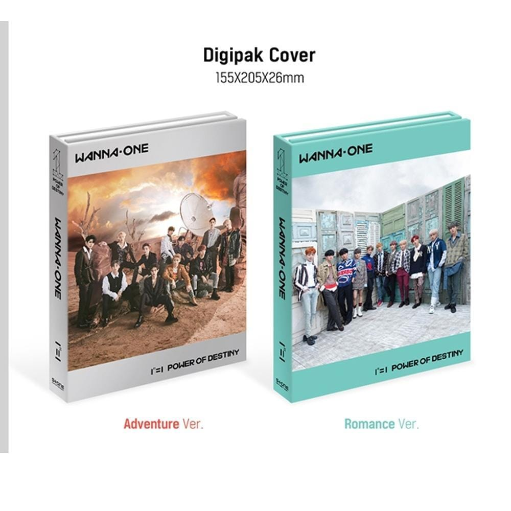 MUSIC PLAZA CD ADVENTURE VER. WANNA ONE 1ST ALBUM [ 1¹¹=1 ( POWER OF DESTINY ) ] CD + BOOKLET
