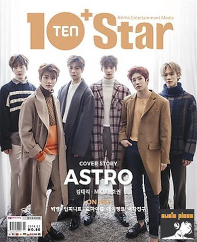 <strong>텐아시아 | 10+STAR</strong><br/>2018-2<br/>TEN ASIA  MAGAZINE