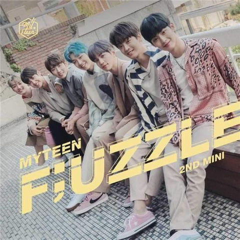 MYTEEN | 마이틴 | 2nd Mini Album - F;UZZLE