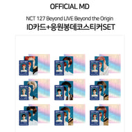 NCT127 Beyond LIVE Beyond the Origin [ ID CARD+DECO STICKER ]