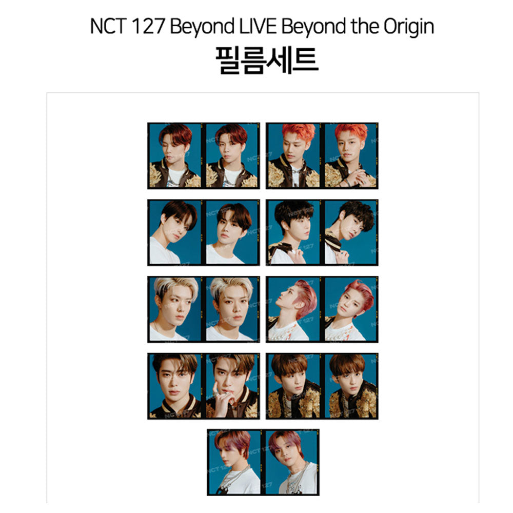 NCT127 Beyond LIVE Beyond the Origin [ FILM SET ]