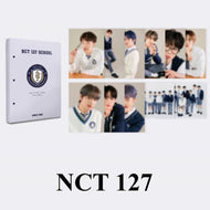 NCT127 2021 BSK HARD COVER POSTCARD BOOK