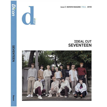 D-icon Vol. 3 Ideal cut SEVENTEEN | Dispatch Magazine FALL 2018