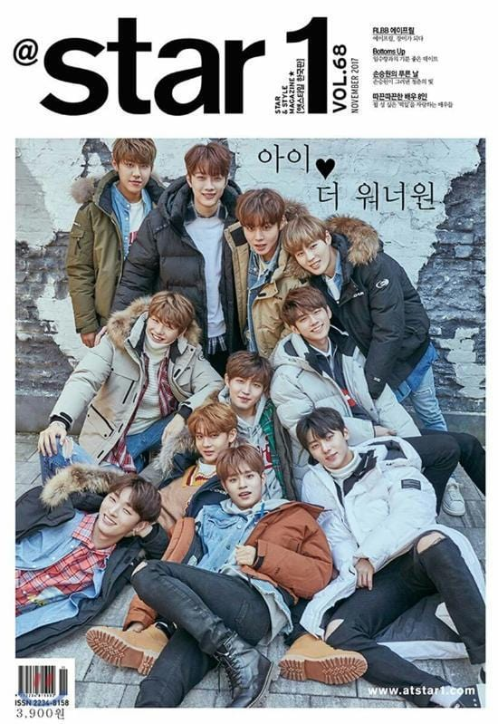 MUSIC PLAZA Magazine <strong>앳스타일 | @ STAR1</strong><br/>2017-11 VOL.68<br/>WANNA ONE