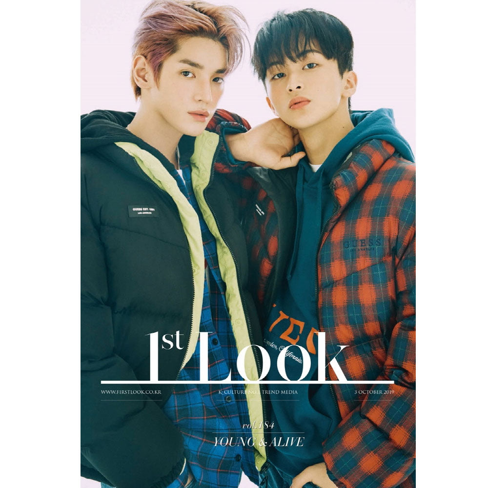 1ST LOOK VOL.184 [ SOOHYUN & TAEYONG, MARK ] KOREA MAGAZINE