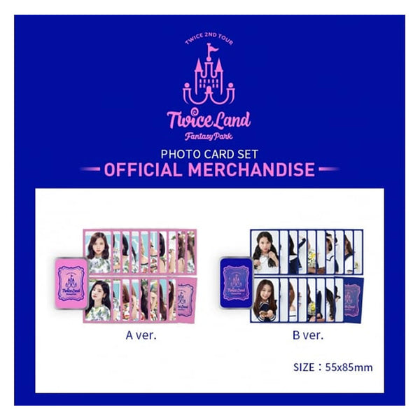 TWICE 2ND TOUR -  PHOTO CARD SET