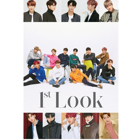 1ST LOOK VOL.162 CE&WANNA-ONE SPECIAL EDITION - PARK JI HOON BACK COVER