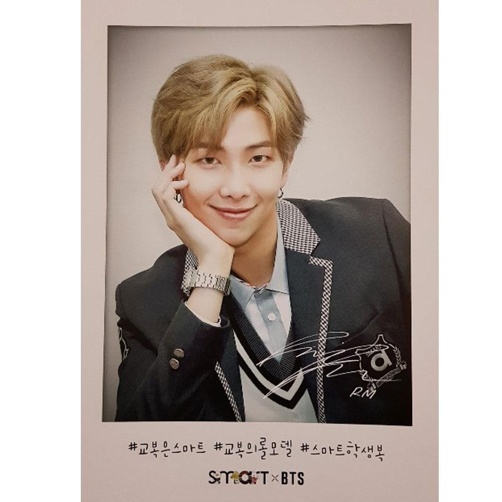 SMART * BTS 2019 OFFICIAL POSTCARD SET 8PCS
