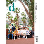 D-ICON VOL.5 [ NCT 127 , AND CITY OF ANGEL ] MAGAZINE PHOTOBOOK