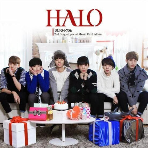 HALO | 헤일로 | 2nd Single Special Music Card Album - Surprise