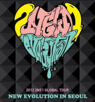 MUSIC PLAZA DVD 2NE1 | 투애니원 2012 GLOBAL TOUR LIVE: NEW EVOLUTION IN SEOUL