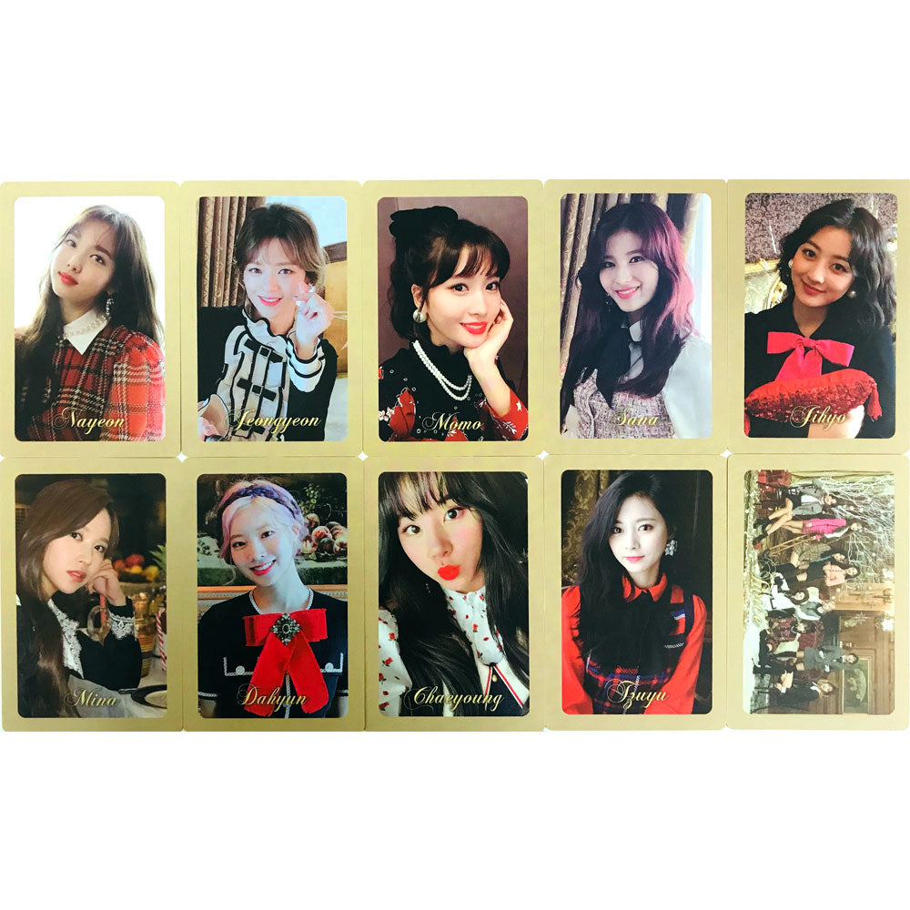 TWICE THE YEAR OF YES PHOTO CARD SET - 2TYPE