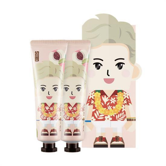 <strong>PAPER TOY | EXO SUHO</strong><br/>HAND CREAM / SHEA BUTTER+ALOE<br/>NATURE REPUBLIC