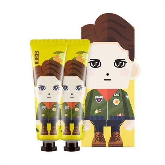 MUSIC PLAZA Goods <strong>PAPER TOY | EXO / SEHUN</strong><br/>HAND CREAM / CITRON<br/>NATURE REPUBLIC