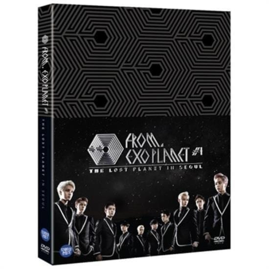 MUSIC PLAZA DVD EXO | 엑소 | EXO From EXOPLANET #1 - The Lost Planet in Seoul DVD